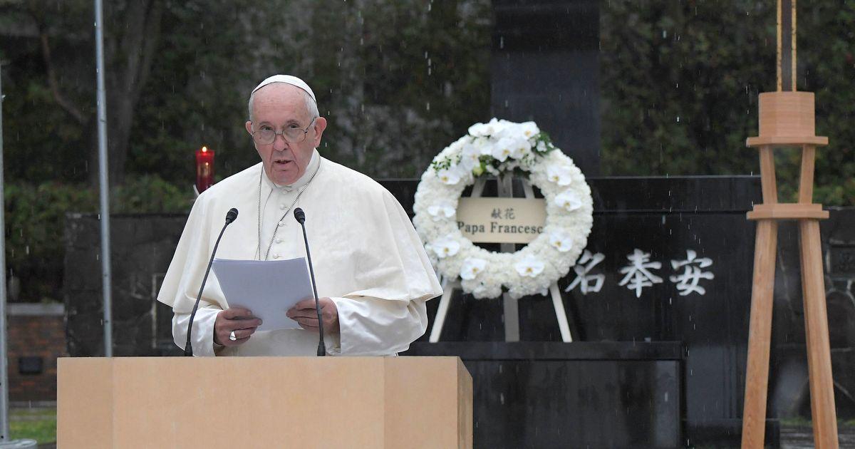 ローマ教皇、長崎で核兵器廃絶を訴える。軍拡を「神に背くテロ行為」と非難(スピーチ全文) | ハフポスト