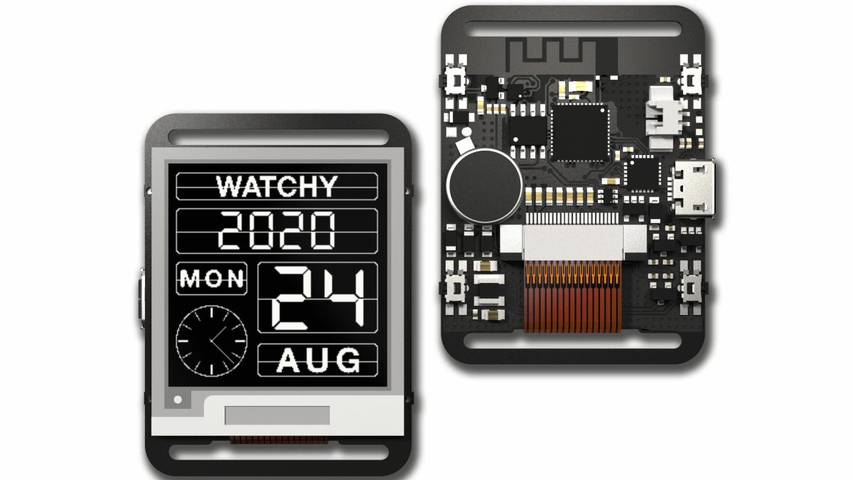 5900円でカスタマイズ可能&オープンソースのスマートウォッチ「Watchy」が登場 - GIGAZINE