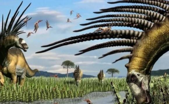 背骨のトゲで身を守った恐竜の新種が発見される(アルゼンチン) : カラパイア