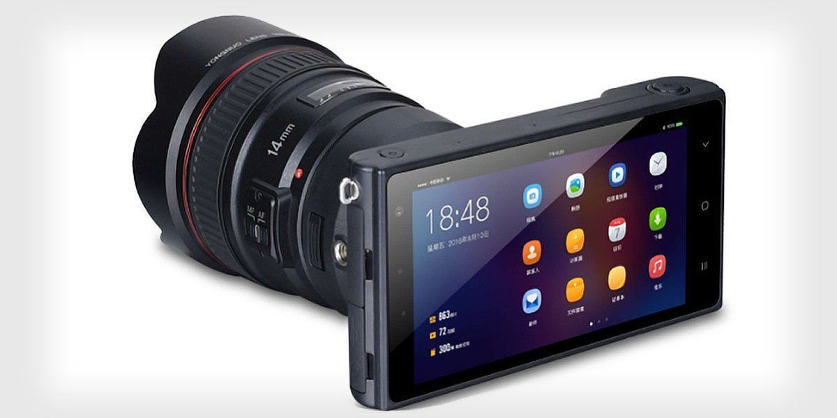 キャノンEFレンズが使えるカメラ重視Androidスマホ「YN450」中国Yongnuoから誕生 - Engadget 日本版