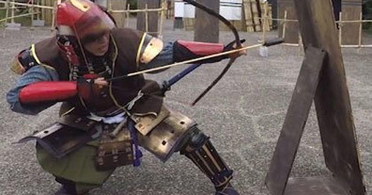『凄く…熱いです…』火矢を使う解決方法は2つ。我慢する!そして矢を●●する! #日本甲冑合戦之会 #ガチ甲冑合戦 - Togetter
