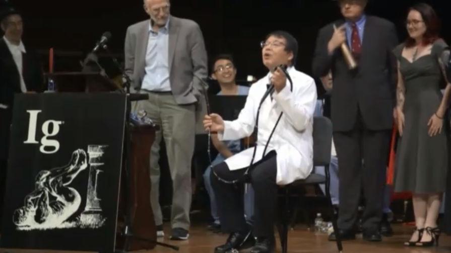 おバカな研究に贈られる「イグノーベル賞」で日本人が12年連続受賞の栄誉に輝く - GIGAZINE