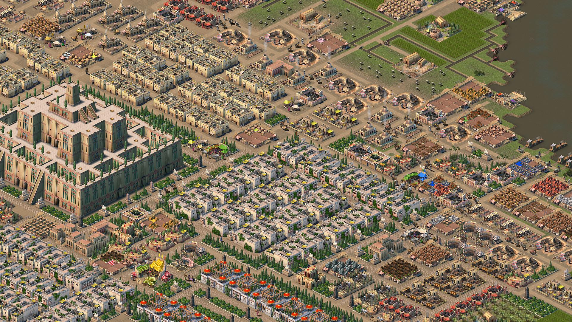 古代メソポタミアが舞台の都市運営シミュレーション『Nebuchadnezzar』2021年2月17日に発売へ。世界最古の人類であるシュメール人たちを率いて古代最大の街を築こう