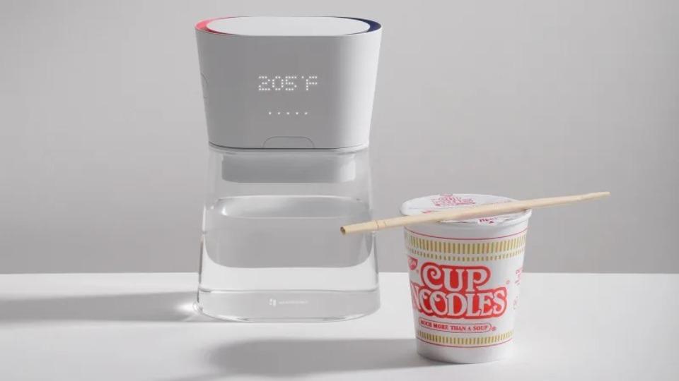 注ぐ瞬間にお湯が沸く。新技術採用のケトル「デュオ・カラフェ」 #CES2019 | ギズモード・ジャパン