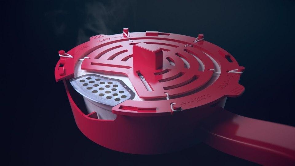 カップ焼そばU.F.O.のふた裏キャベツを除去する「キャベバンバンCBB-001」   ギズモード・ジャパン