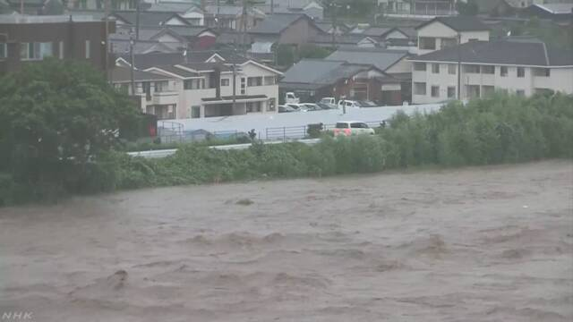 高知 安芸川 水が堤防超えたか |...