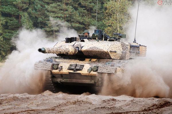 ドイツ「戦車王国」の黄昏 稼働するのは全盛期のわずか3%、どうしてそうなった? | 乗りものニュース