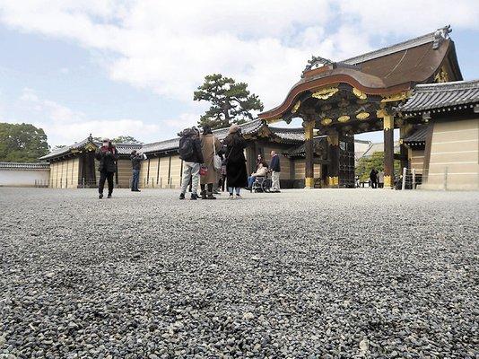 二条城の砂利道舗装へ、訪日客歩きやすく…京都 : 地域 : 読売新聞オンライン