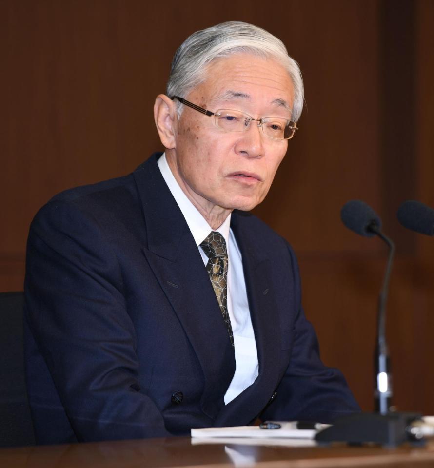 NHK新会長 ネット常時同時配信「分かってない、勉強中です」…恐妻家告白も/芸能/デイリースポーツ online