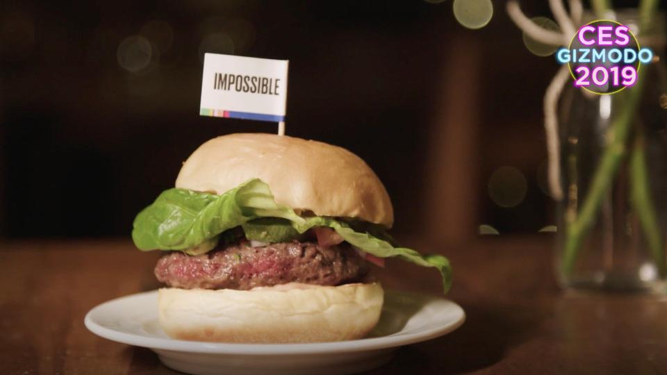 人工肉バーガーはうまい。うますぎた #CES2019   ギズモード・ジャパン