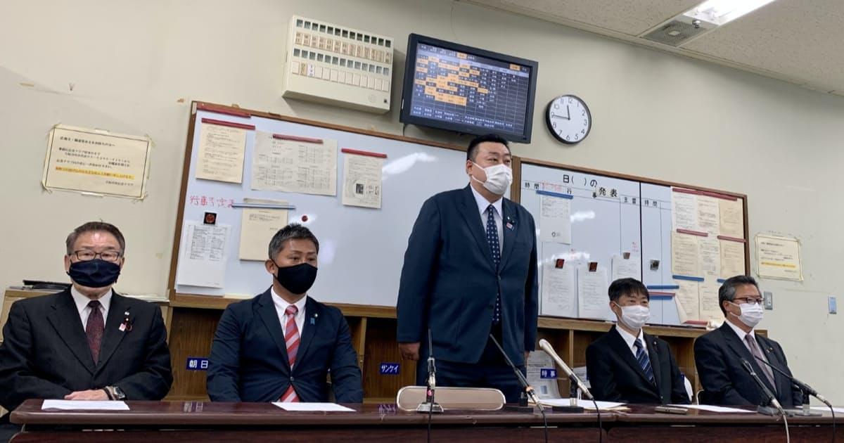 自民大阪市議ら5人、新会派結成 政策「維新とも調整」: 日本経済新聞