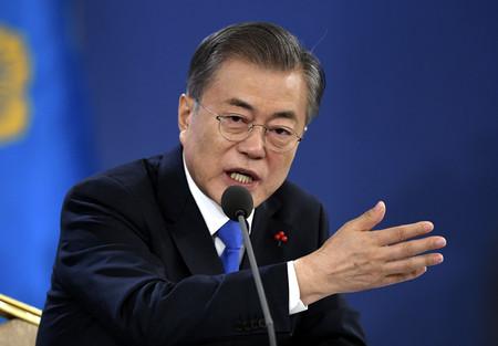 「日本で反韓世論拡散」=韓国紙、文氏発言を批判:時事ドットコム