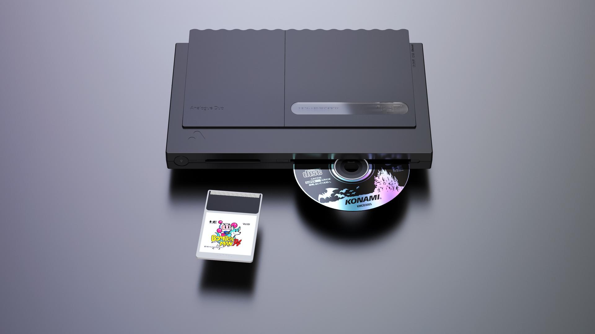 高級PCエンジン互換機 Analogue Duo発表。ほぼ全機種のカード・ディスク対応 - Engadget 日本版