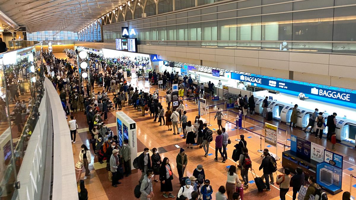 3連休初日の羽田空港大混雑。直前キャンセル出来ずに予定通り出発。Go Toキャンセル料高額もネックに(鳥海高太朗) - 個人 - Yahoo!ニュース