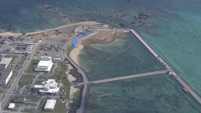 辺野古埋め立て 土砂投入前にサンゴ移植急ぐ 防衛省 | NHKニュース