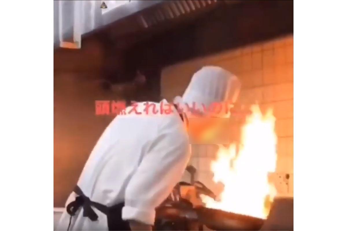 """バーミヤンが従業員の""""不適切動画""""で謝罪 キッチンのコンロの炎でタバコに引火し喫煙 - ねとらぼ"""