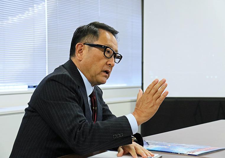 豊田章男自工会新会長吠える! (1/3) - ITmedia ビジネスオンライン
