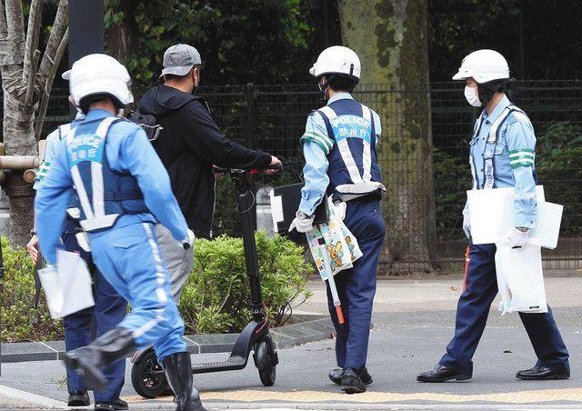 「ダメなの分かってたけど…」違反相次ぐ電動キックボード、都内で初の大規模指導:東京新聞 TOKYO Web