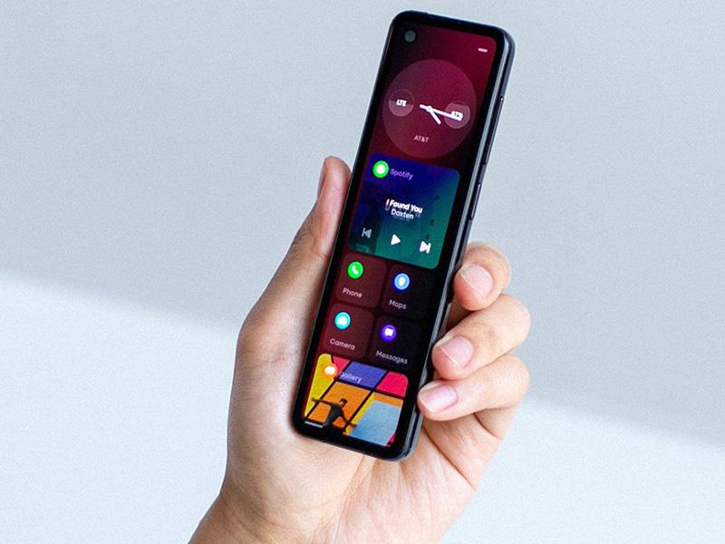 Androidの父、とても細長いスマホ「GEM」を披露 「根本的に異なるフォームファクタ」 - ITmedia NEWS
