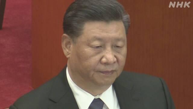 自民 習国家主席の国賓訪日中止求める方針 「香港傍観できず」 | NHKニュース