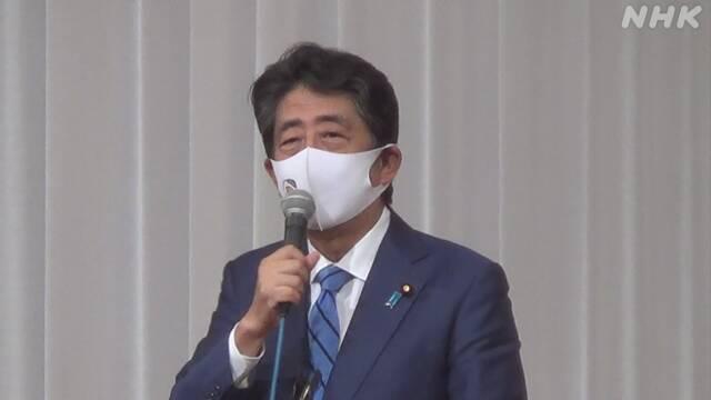 安倍前首相 オリンピック開会式への出席見送り 無観客など考慮   オリンピック・パラリンピック   NHKニュース