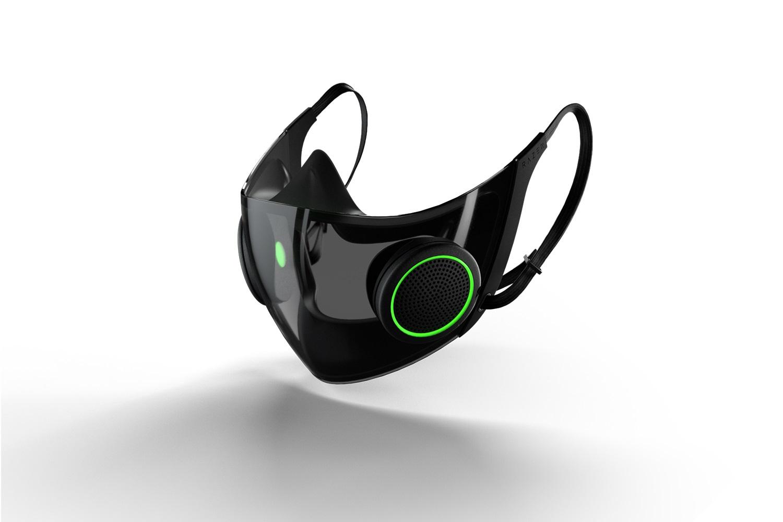 Razerが世界で最もスマートなゲーミングマスクのコンセプトデザインを発表。1680万色に光るだけでなく、医療従事者向け製品の規格にも合格