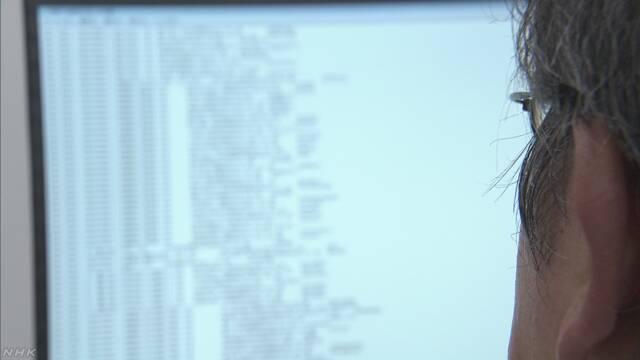 2億件の日本人メールアドレスか 闇サイトで販売   NHKニュース