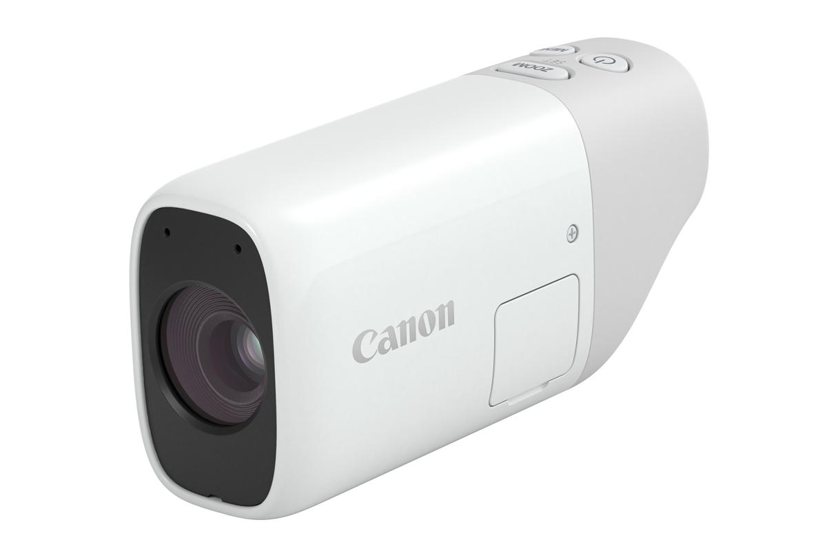 """キヤノン、録画もできる""""望遠鏡型カメラ""""。デジタルズーム800mm相当 - AV Watch"""