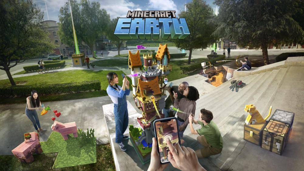 マインクラフトの完全新作ARゲーム『Minecraft Earth』発表。全地球マイクラ化計画開始 - Engadget 日本版