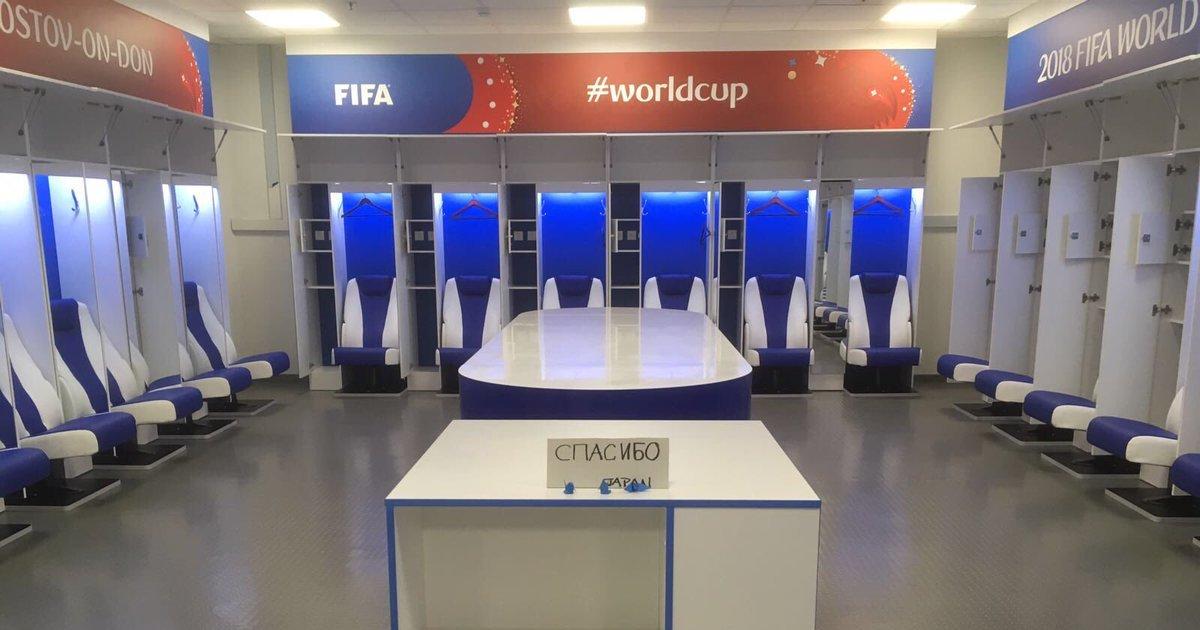 敗戦直後、日本代表がロッカーに残したメッセージに世界が感動(ワールドカップ)