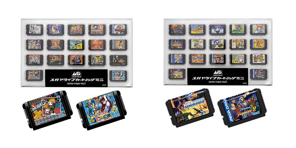 セガ、TGS2020物販予約を開始!「メガドライブカートリッジ ミニ」が今回は17個入りセットで登場 - GAME Watch