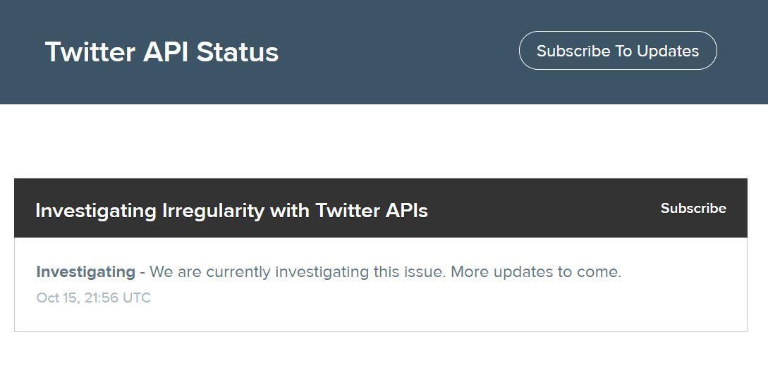 Twitterで日本時間の16日午前に障害発生 ツイートできず(午前9時過ぎに復旧) - ITmedia NEWS