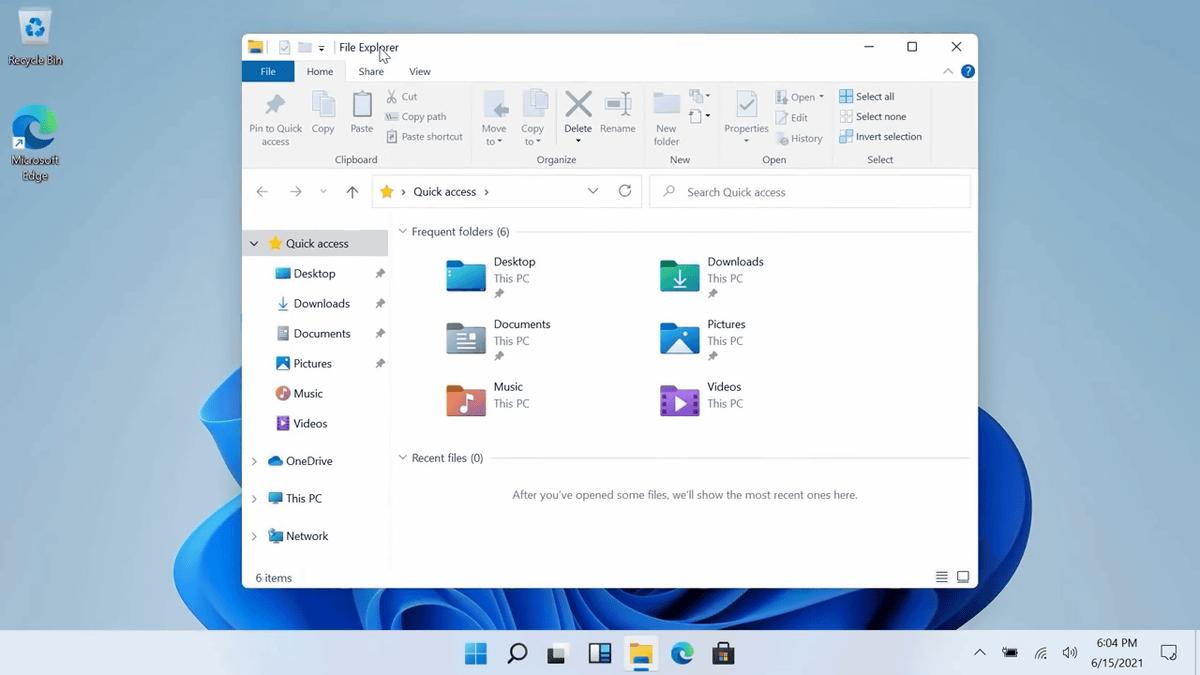 Windows 11のUI・起動音・壁紙などがリーク情報から明らかに - GIGAZINE
