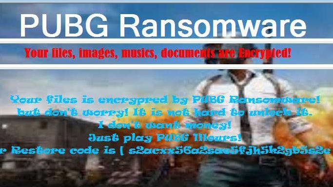PCのファイルやフォルダを暗号化し、身代金ではなく謎のゲームに参加することを要求する「PUBGランサムウェア」 - GIGAZINE