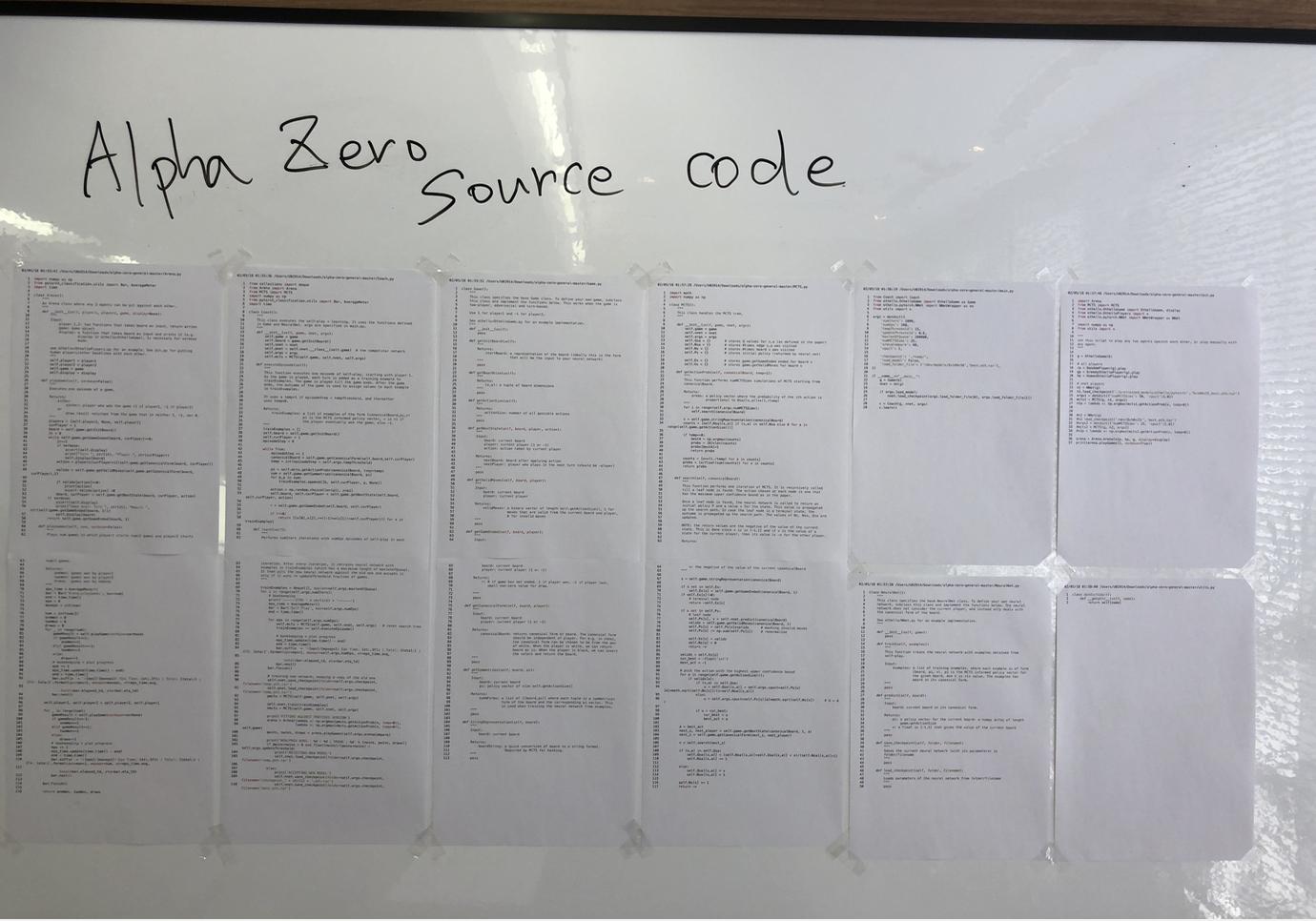 AlphaZeroのソースコードはわずかホワイトボード一枚に収まる : 情熱のミーム 清水亮 - Engadget 日本版