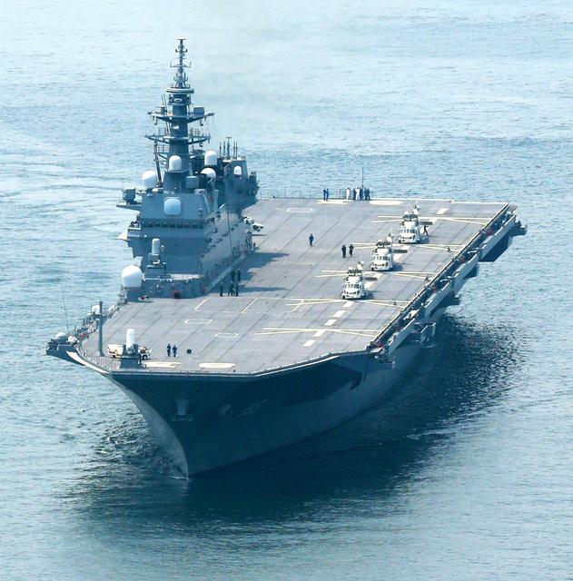 「いずも」空母化、設計時から構想 F35Bの艦載想定:朝日新聞デジタル