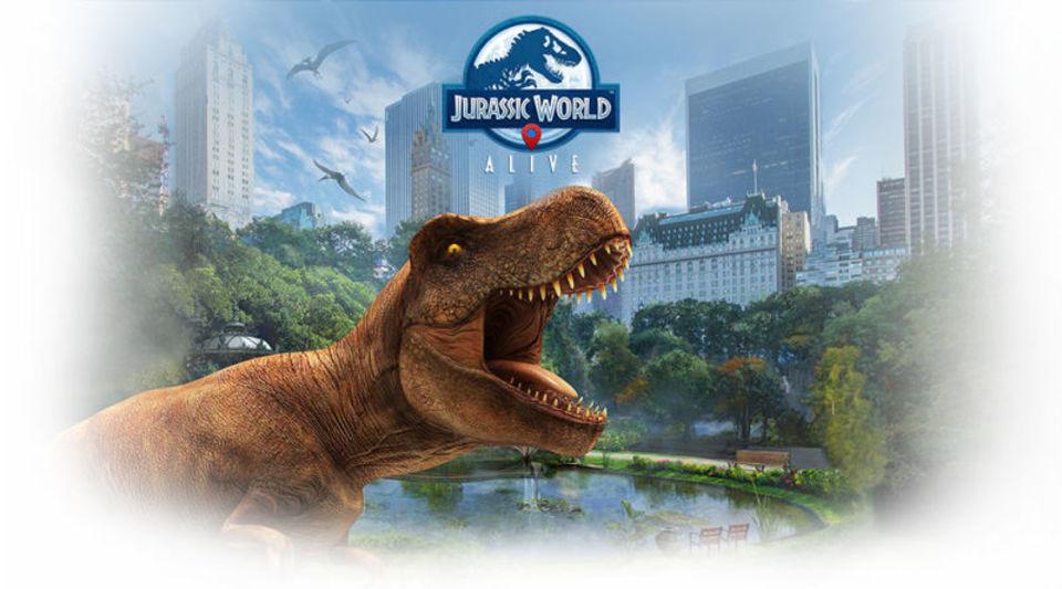 今度は恐竜を捕まえよう。映画『ジュラシック・ワールド』版ポケモンGO「Jurrasic World Alive」 | ギズモード・ジャパン