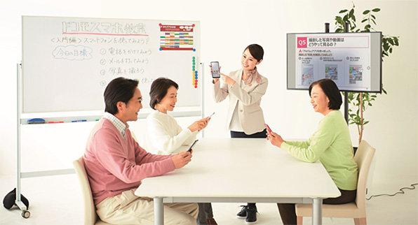 ドコモ、店頭でTwitterやFacebookアプリの使い方を教えるサービス 1回3300円 - ITmedia NEWS