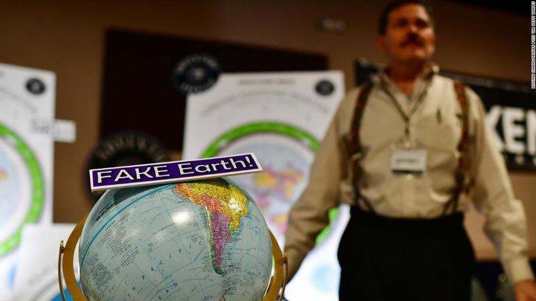 CNN.co.jp : 世界に広がる「地球平面説」 その背景にあるものは?
