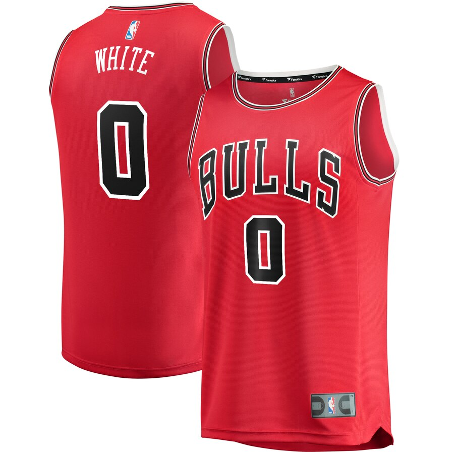 Coby White シカゴ・ブルズ Branded Youth 2019 Draft First Round Pick Fast Break Replica ユニフォーム Red