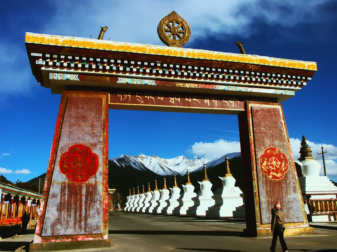 チベット仏教の寺院