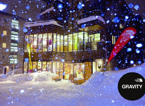 THE NORTH FACE GRAVITY NISEKO