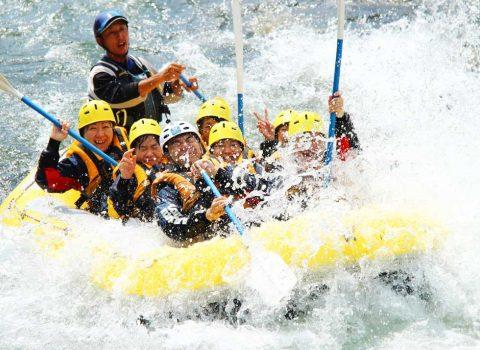 Hokkaido Lion Adventure - Rafting