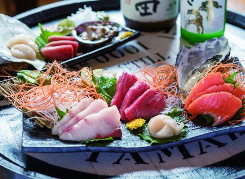 紅葉 鍋料理+日本酒