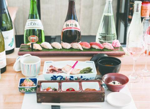 北海道仁木町 Sushi & Wine 鮨処哲
