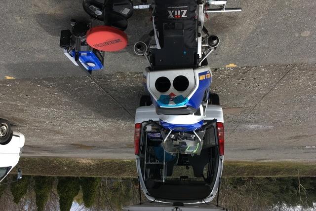 桶川スポーツランドで走行の写真