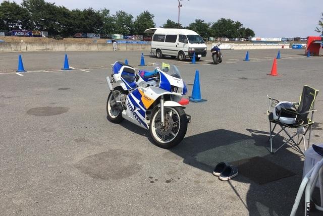 桶川スポーツランド(2017年15回目) NSR250Rの写真