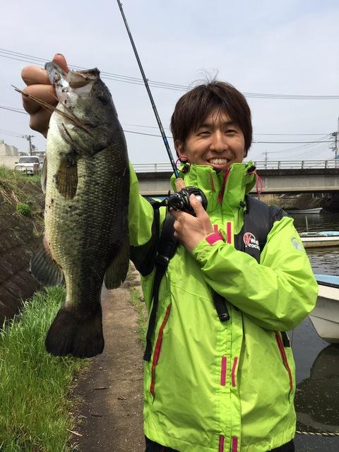 ブラックバス 土浦新川 2016年4月24日11:36