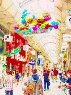裏路地の異世界商店街