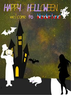 HAPPY HALLOWEEN─welcome to Wonderland─